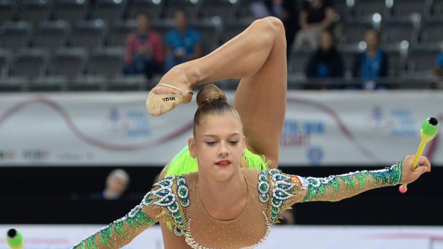 Руската гимнастичка Александра Солдатова отрече да е опитвала да се самоубие