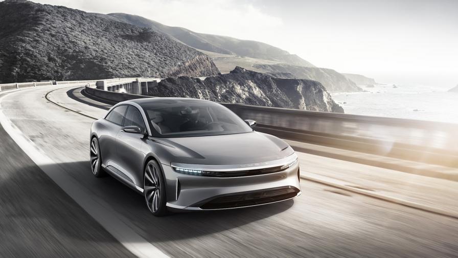 Представеният през 2017 г. Lucid Air ще се различава от серийния модел, който ще дебютира на автосалона в Ню Йорк.