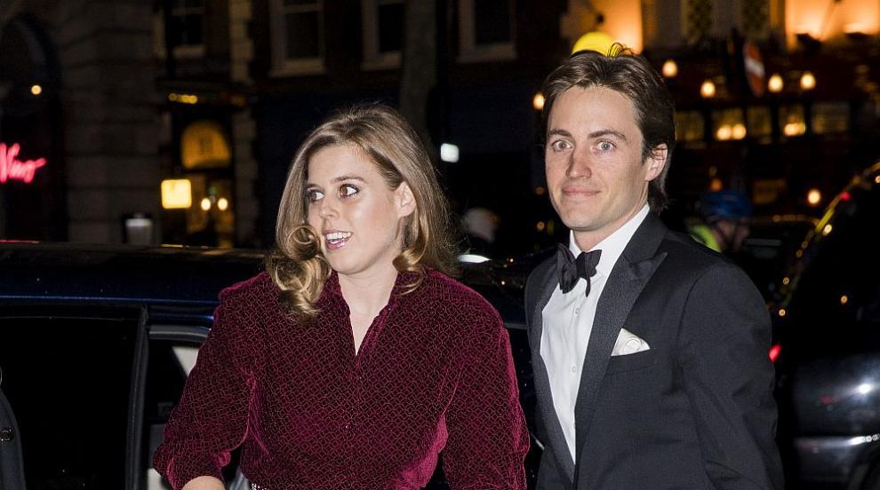 Британската принцеса Биатрис се омъжи в много тесен...