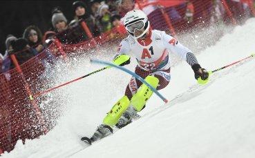 Алберт Попов с първи тренировки на сняг