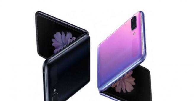 Технологии Samsung представи сгъваемия Galaxy Z Flip на Оскарите Телефонът