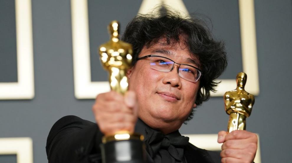 """Южнокорейската сатира """"Паразит"""" сътвори история на Оскарите"""