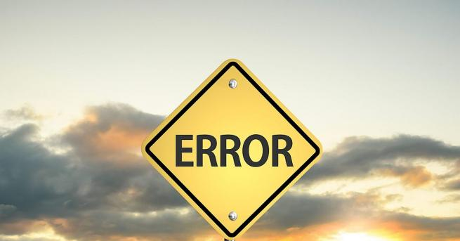Понякога най-незначителната грешка може да струва милиони. Печатните грешки могат
