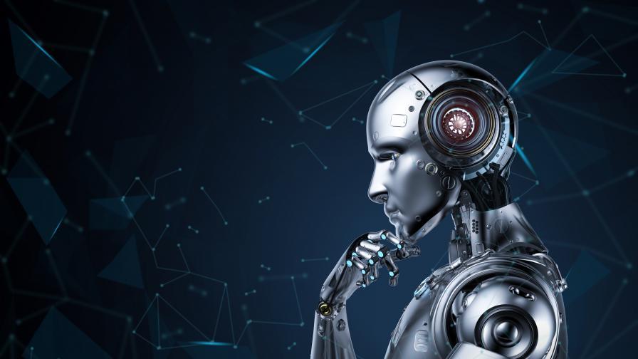 """Робот на """"Таймс скуеър"""" дава съвети за коронавируса"""