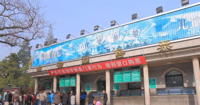 Пекинският зоопарк, който е затворен за посетители от 24 януари