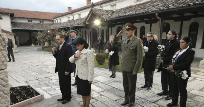Председателят на Народното събрание Цвета Караянчева и водената от нея