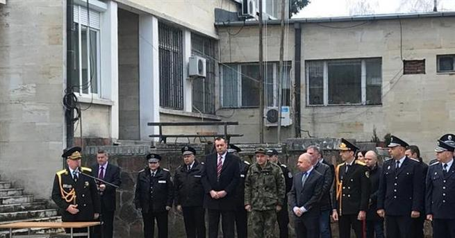 """Регионално звено на дирекция """"Жандармерия"""" бе открито днес в Благоевград."""