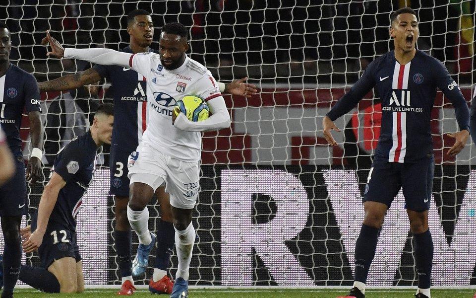 Атлетико Мадрид води преговори с Олимпик Лион за френския нападател