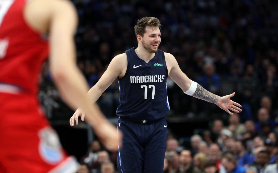 Дончич подобри постижение на ЛеБрон при завръщането си