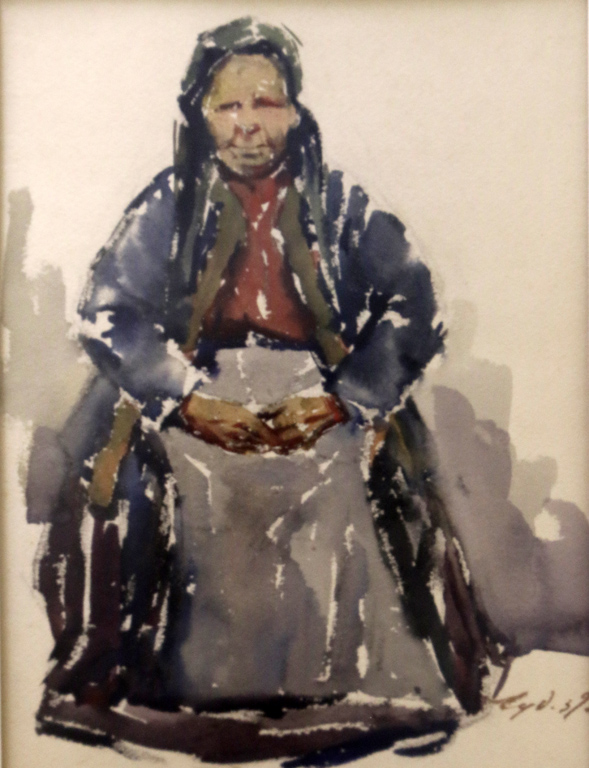 <p>Стара жена 1939 г.</p>
