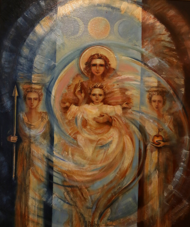 """Полина Герджикова, """"Богинята майка - Триликата"""""""