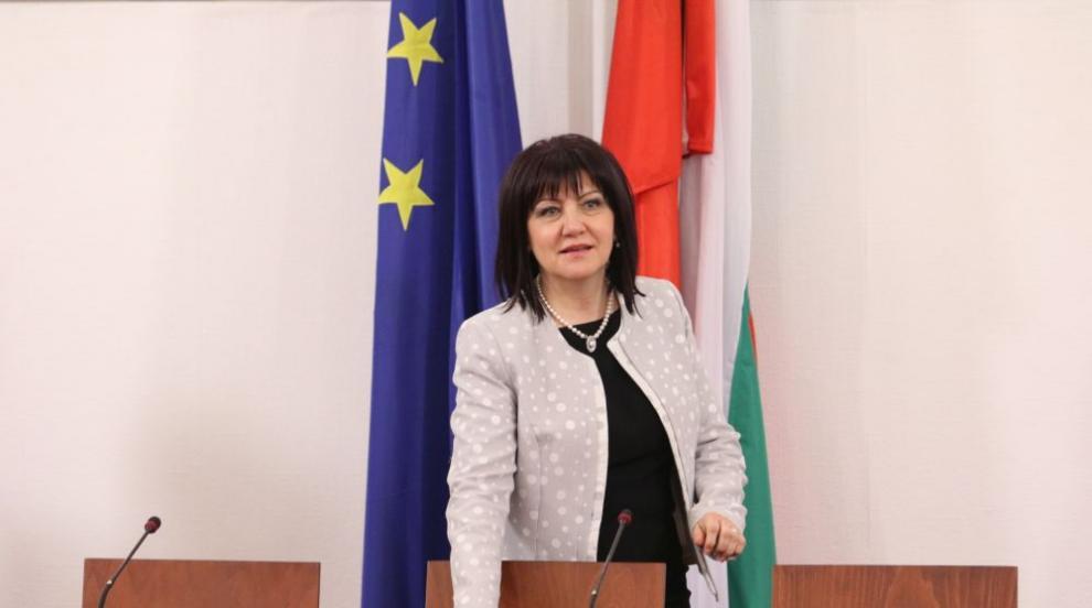Караянчева: България и САЩ имат добре изградени силни връзки (СНИМКИ)