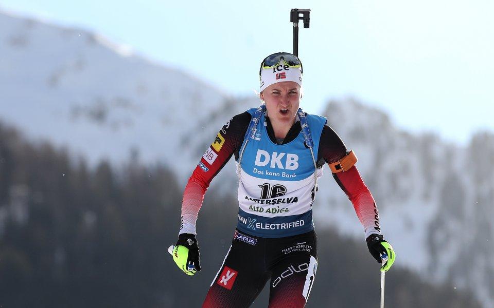 Норвежка спечели титлата в спринта, силно представяне на Тодорова