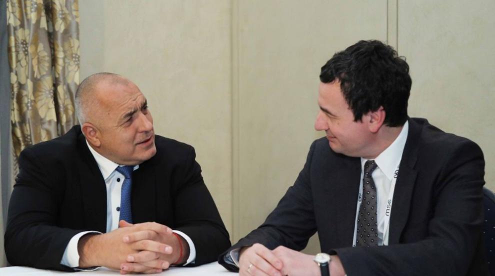 Борисов се срещна с колегите си от Косово и Армения в Мюнхен (СНИМКИ)