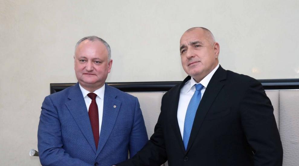 Борисов към Додон: Трябва да преодолеем спада в двустранния стокообмен