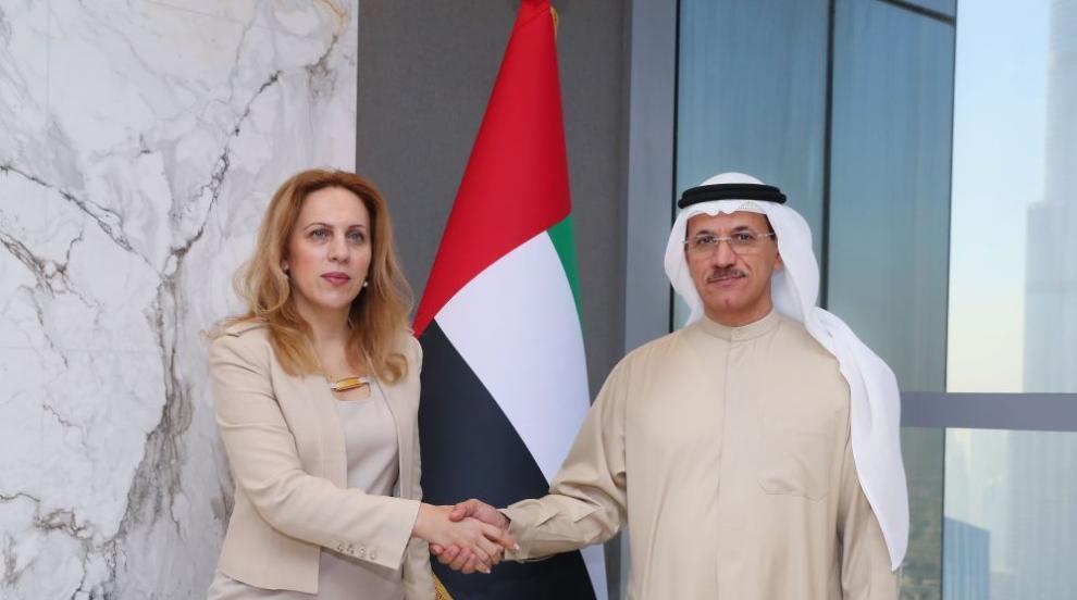 Марияна Николова: ОАЕ са важен външнотърговски партньор на България