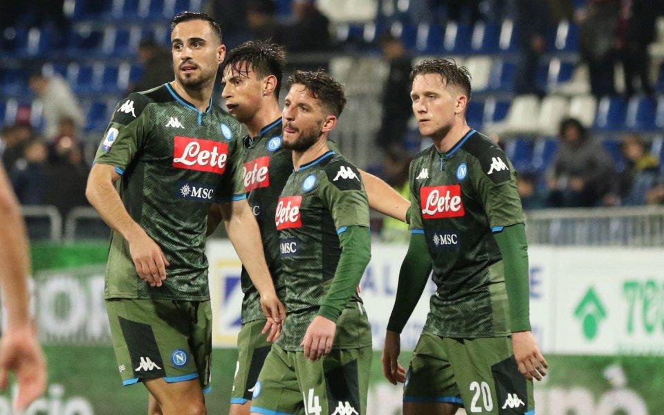 Мертенс донесе три точки за Наполи със 120-ия си гол за клуба