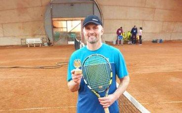 Павел Йорданов с първа титла в Интерактив тенис