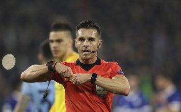 Определиха съдията за мача на Лудогорец с Интер