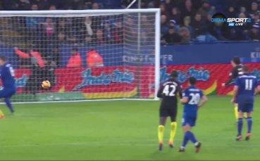 Една велика победа на Лестър над Манчестър Сити