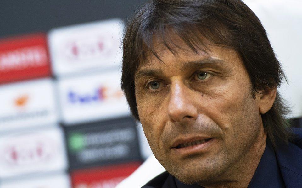 Наставникът на Интер Антонио Конте коментира успеха над българския шампион