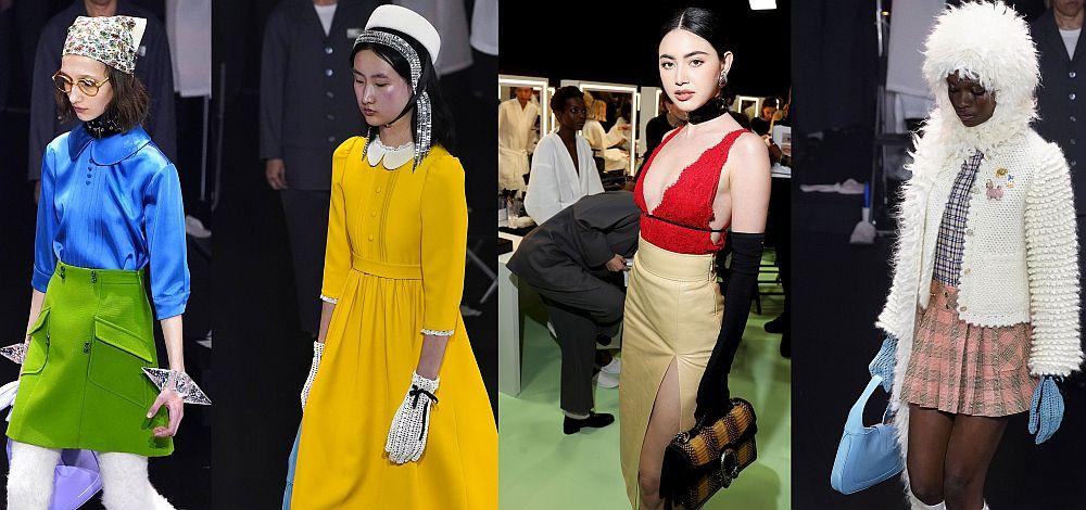 Колекцията на модна къща Gucci за сезона есен/зима 2020 - 2021 година