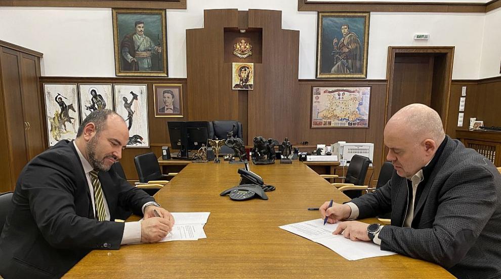 Прокуратурата и УНСС подписаха споразумение за стажантска програма