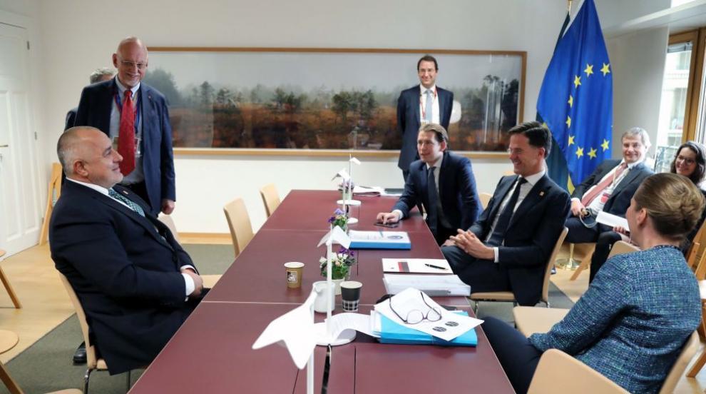 Борисов: Средствата от ЕС ни помагат да се движим по-бързо напред (СНИМКИ)