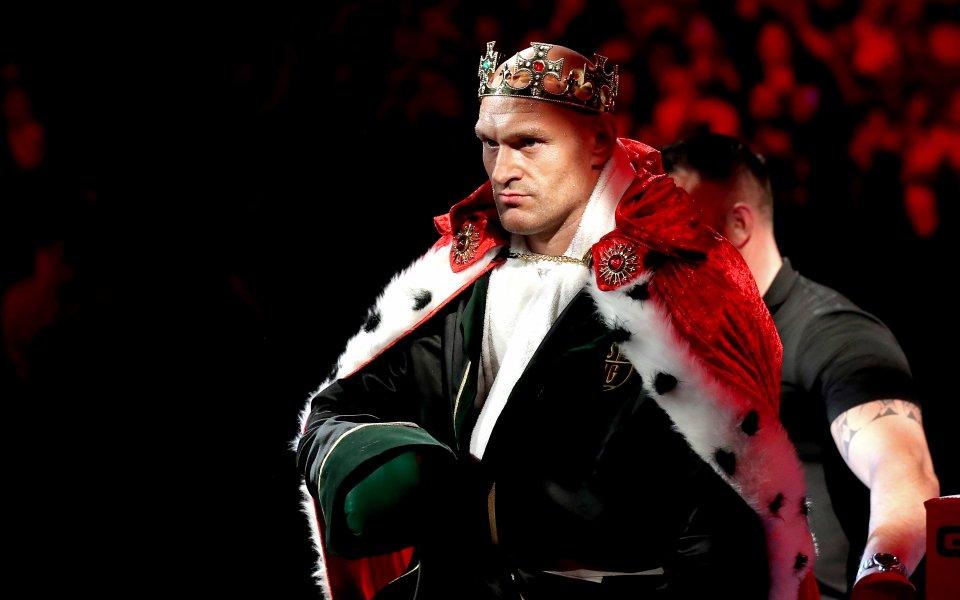 Тайсън Фюри е най-високоплатеният боец на планетата. През последните 12