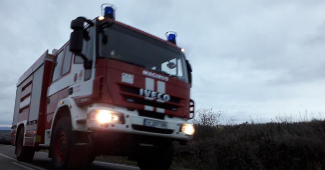 Голям пожар в Бобошево. Горяха три къщи, които са в