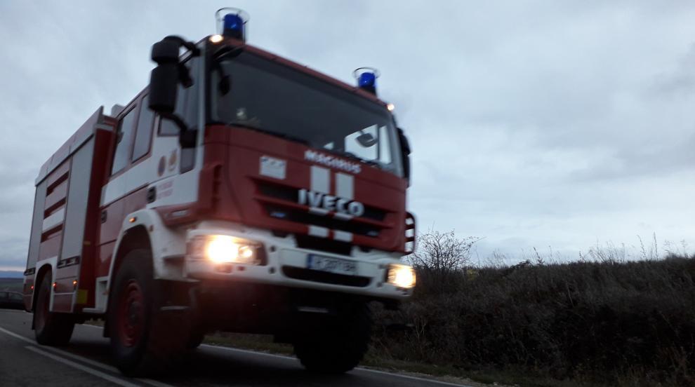 Голям пожар гори в района на община Любимец