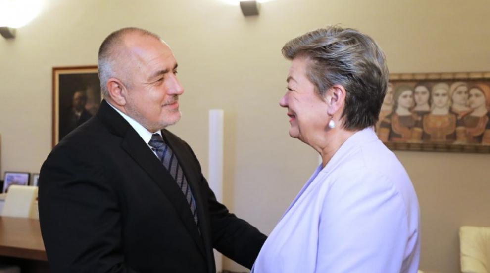 Борисов на среща с Илва Йохансон: Успешно управляваме миграционния натиск...