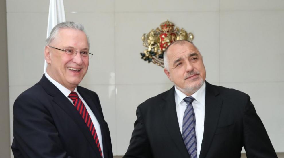 Борисов: Ценим приноса на Германия към операциите на българските граници...