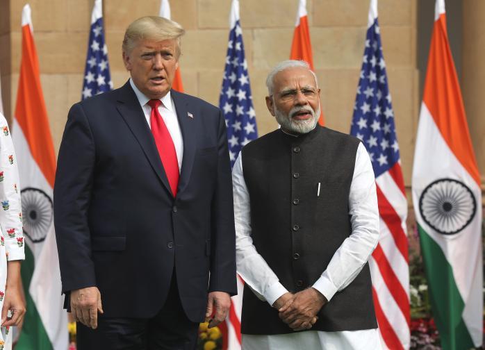 тръмп индия