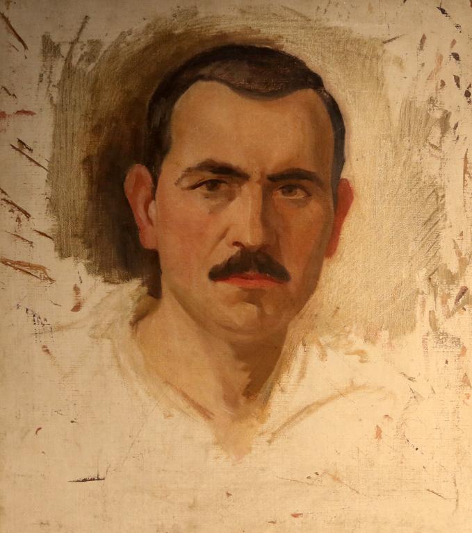 <p>Автопортрет, 20 - те години на XX век</p>
