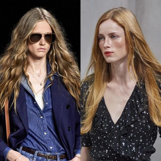 <p><strong>Свободно веещи се коси от 70-те</strong></p>  <p>Достатъчно е да имате много дълга коса. Може да я срешите, може да не я решите, може да сложите и тънка лента през цялата обиколка на главата.</p>