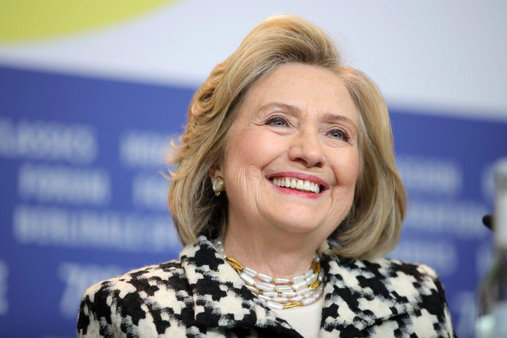 Хилари Клинтън позира като истинска кинозвезда на Берлинале