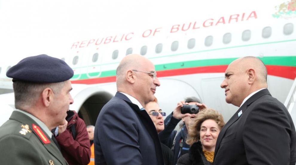 Борисов пристигна в Гърция за Съвета за сътрудничество на високо равнище...