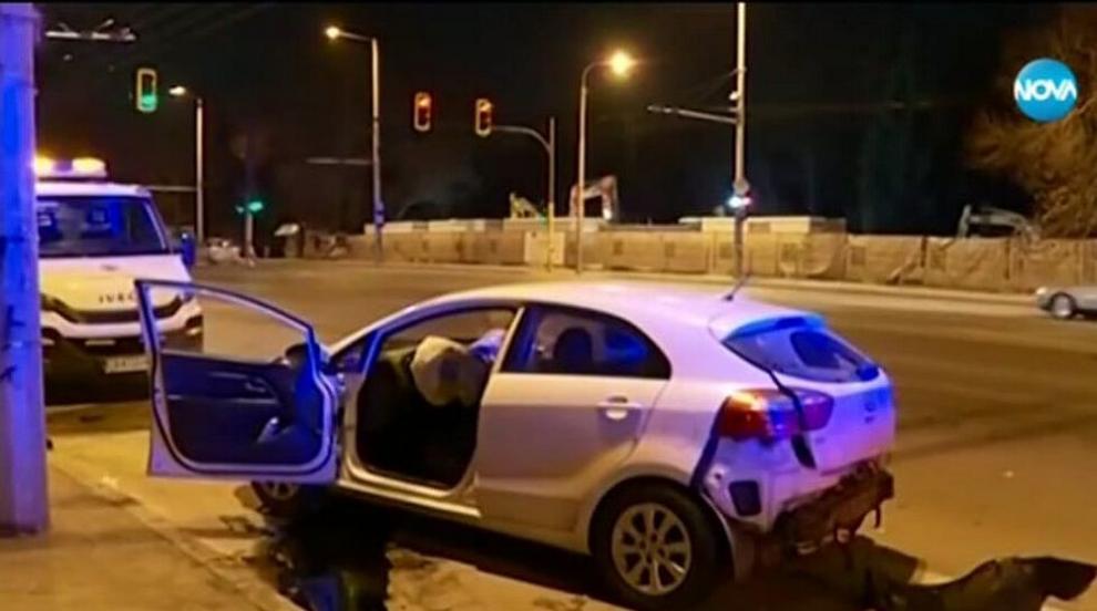 """Пиян и дрогиран причинил тежката катастрофа на бул.""""Сливница"""" (ВИДЕО)"""