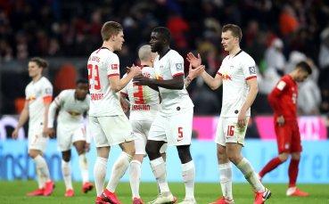 Челси конкурура Арсенал за стълб в защитата на Лайпциг