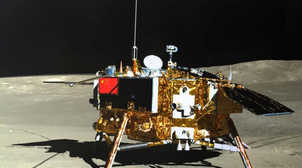 """Луноходът """"Юйту-2"""" разкри тайните на обратната страна на Луната"""