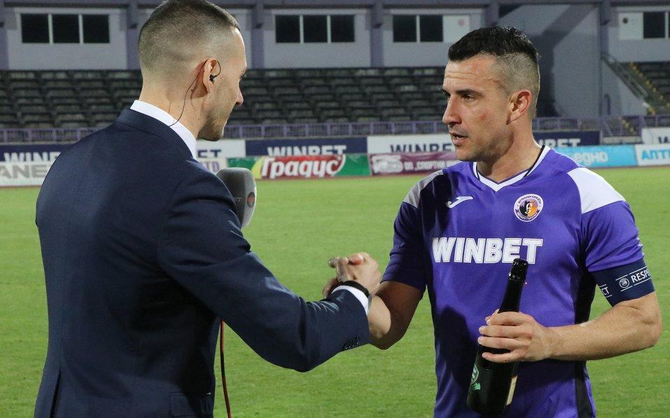 Футболистът на Етър Иван Стоянов отбеляза най-красивото попадение за 22-рия
