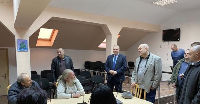 Главният прокурор Иван Гешев и главният секретар на МВР Ивайло