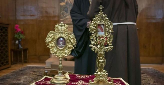 В сградата на Софийската митрополия апостолическият нунций монсеньор Анселмо Гуидо