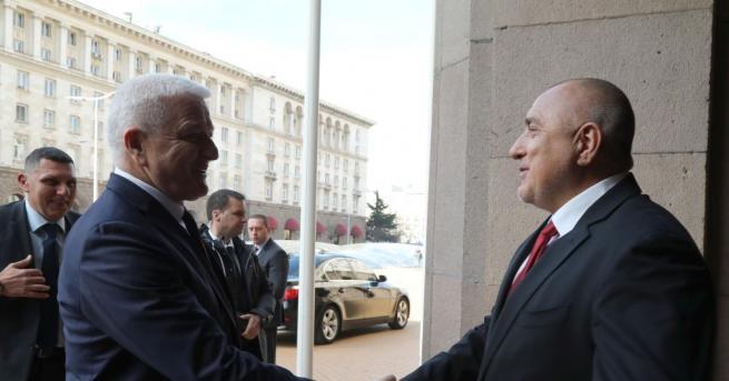 """""""Високо ценим активизирането на отношенията между България и Черна гора."""