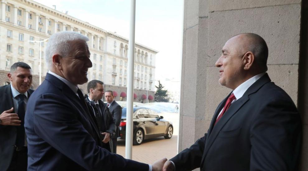 Борисов: Сътрудничеството ни с Черна гора спомага и при справяне с общите...