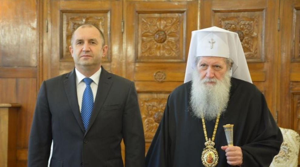 Патриарх Неофит се срещна с президента Румен Радев (ВИДЕО)