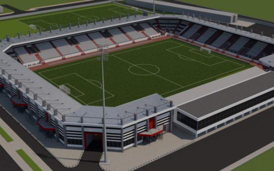До края на годината Локомотив Пд ще има стадион-красавец, след