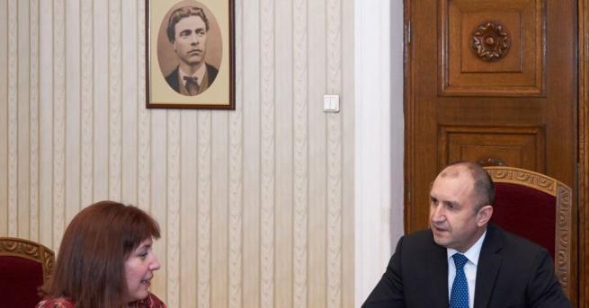 Президентът Румен Радев се срещна с главния инспектор в Инспектората