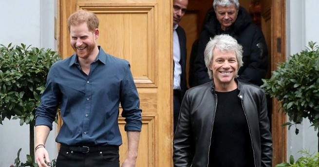 Принц Хари посети студиата